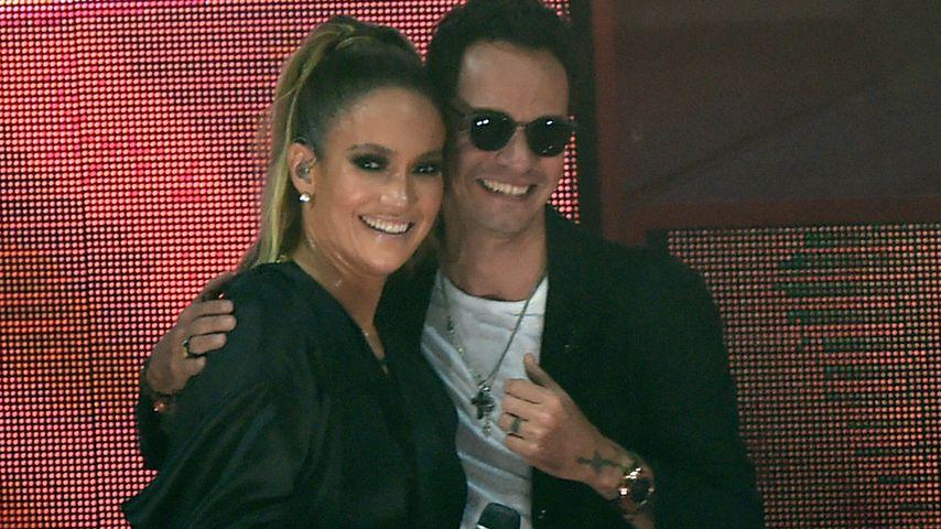 Jennifer Lopez und Marc Anthony in Miami im Oktober 2016