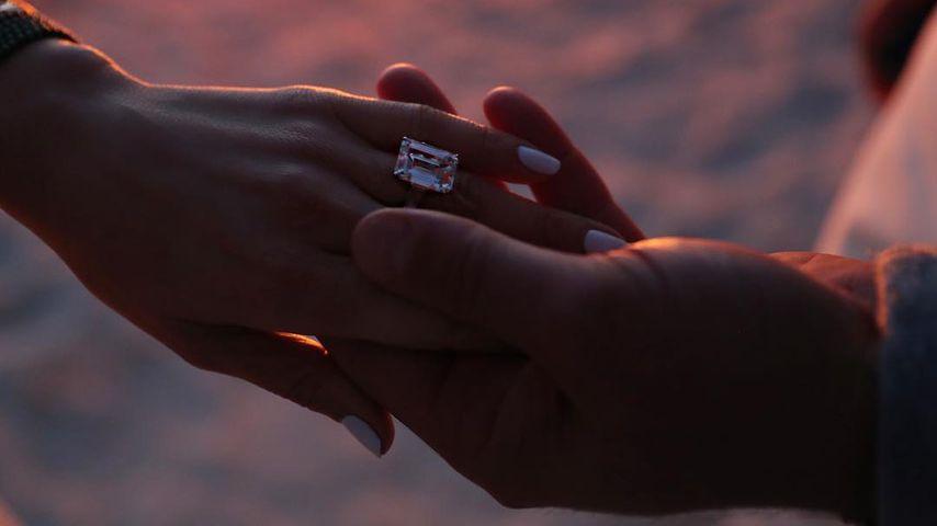 Jennifer Lopez und Alex Rodriguez bei ihrer Verlobung