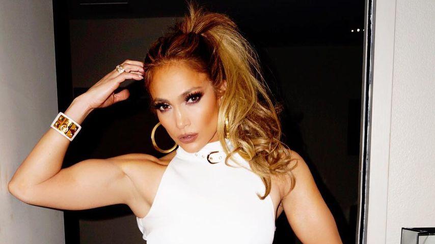 Was für ein Wow-Body! Hier lernt Jennifer Lopez Poledance