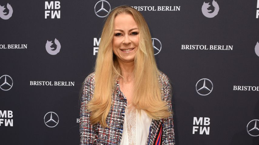 Jenny Elvers bei der Berlin Fashion Week 2018