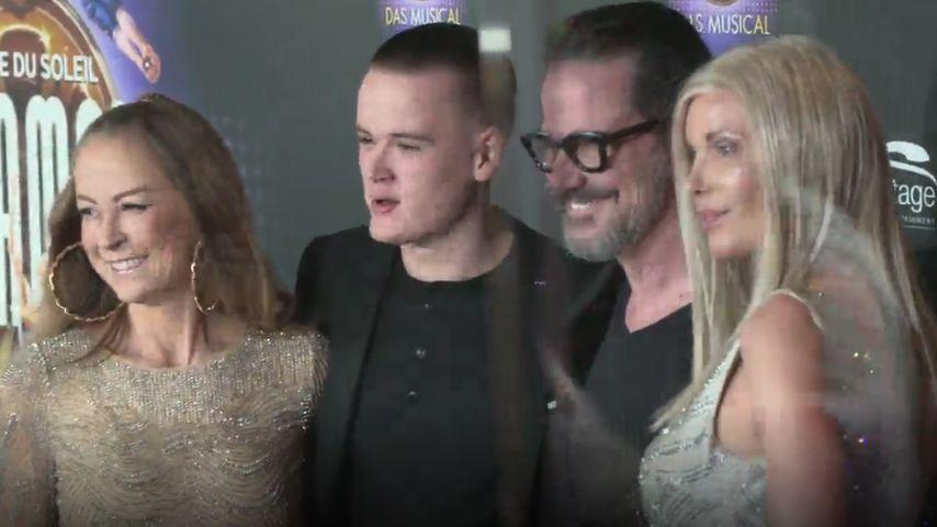 Familien-Treff: Jenny Elvers mit Sohn, Ex Alex & Ehefrau