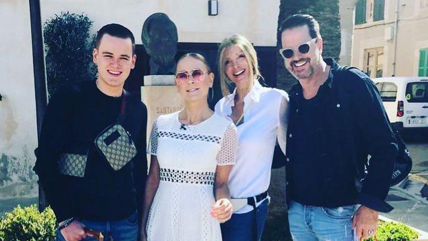 Jenny und Paul Elvers mit Britt und Alex Jolig, Mai 2019