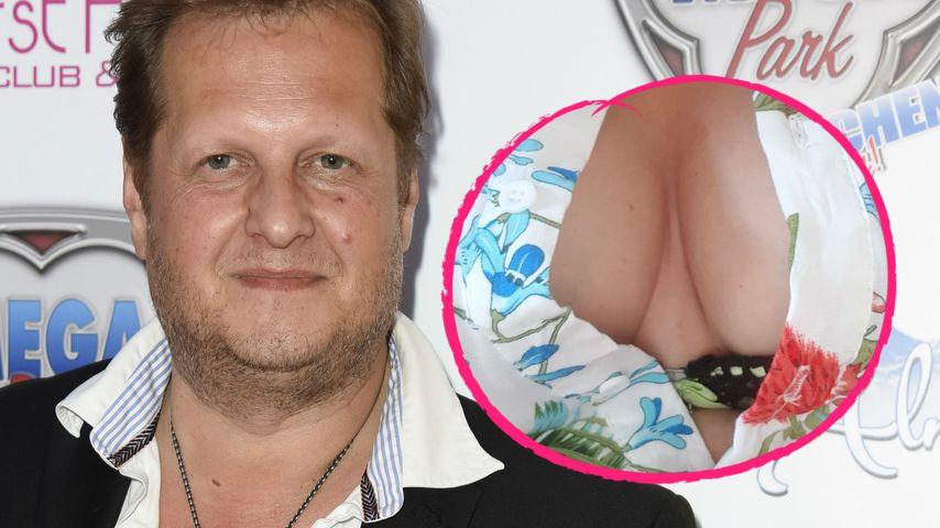 Jens Büchner im Dekolleté-Himmel: Wem gehören diese Brüste?