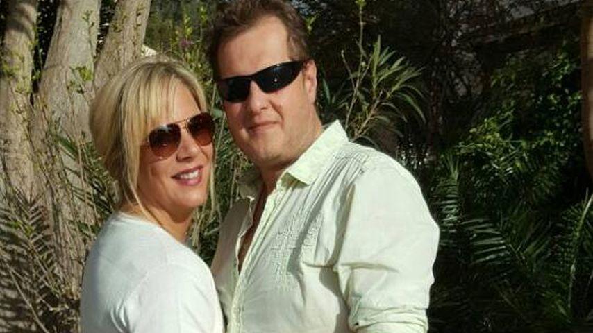 Jens Büchner und Daniela auf Mallorca