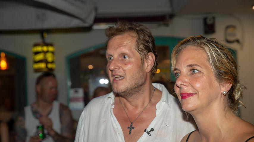 Jens und Daniela Büchner in ihrer Faneteria, Juli 2018