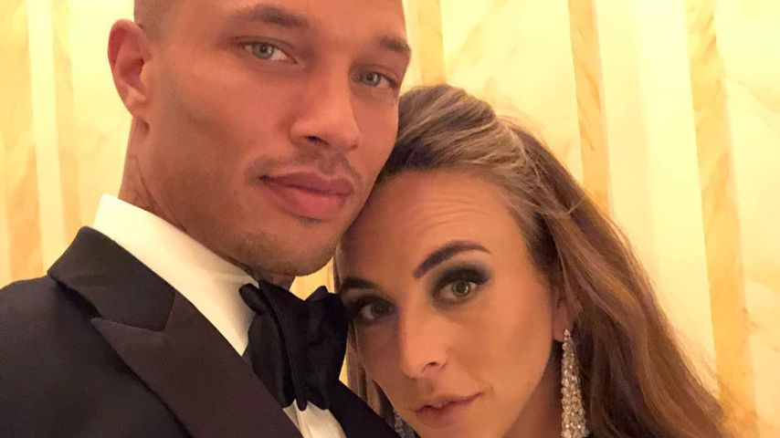 Model Jeremy Meeks mit Chloe Green