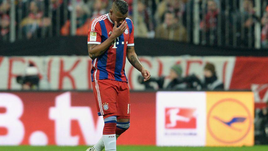 Jérôme Boateng bei einem Fußballspiel des FC-Bayerns