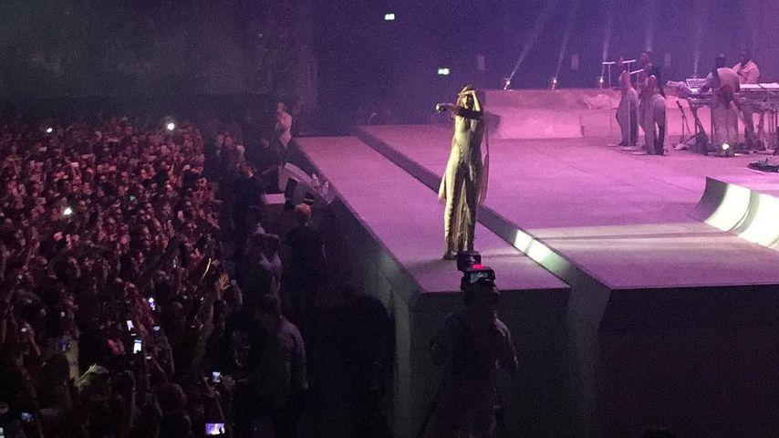 Jérôme Boatengs Schnappschuss von Rihannas Konzert
