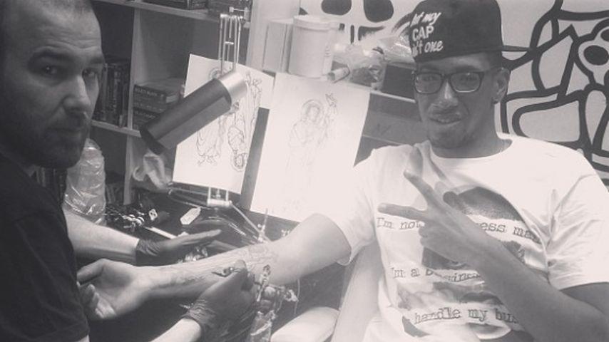 Jérôme Boateng liebt Tattoos