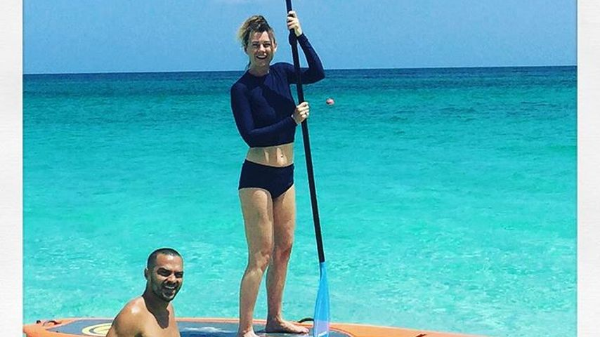 Mit Grey's-Anatomy-Kumpel: Ellen Pompeo macht Single-Urlaub