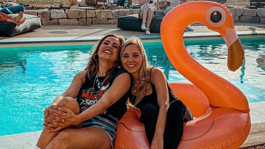 Jessi Faust und Yvonne Pferrer im August 2020