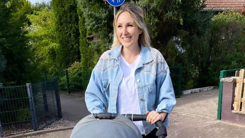 Jessi Schröder mit ihrem Baby Hailey