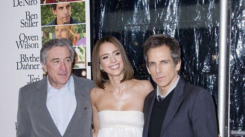 Jessica Alba, Ben Stiller und Robert De Niro