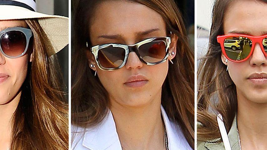 Jessica Alba: Wählt ihre coolste Sonnenbrille!