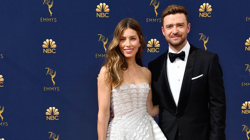 Jessica Biel und Justin Timberlake im September 2018 in Los Angeles