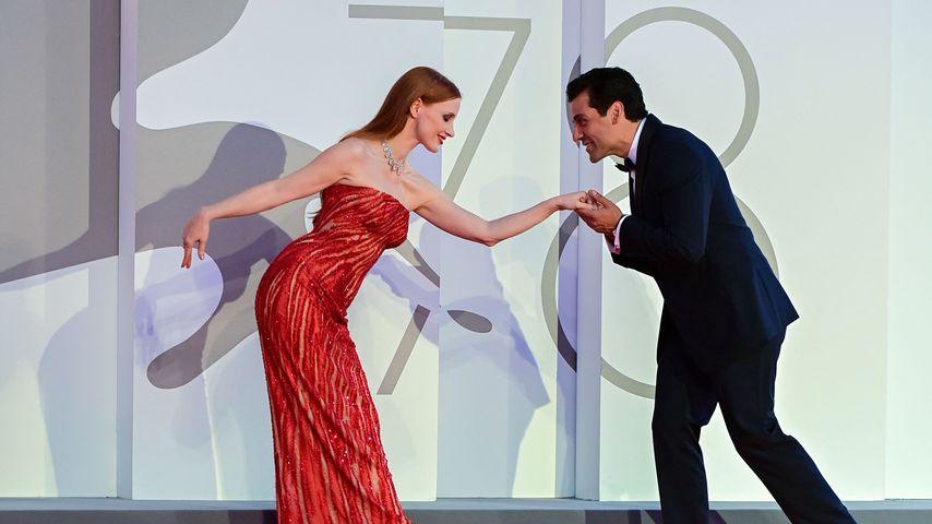 Jessica Chastain und Oscar Isaac