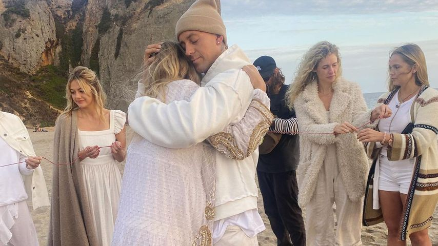Jessica Hart und James Kirkham in Malibu im Oktober 2020