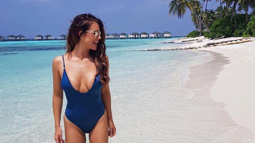 Jessica Paszka auf den Malediven