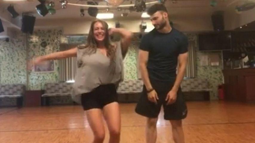 "Jessi & Robert: Heiße Tanzprobe vor ""Let's Dance""-Finale!"