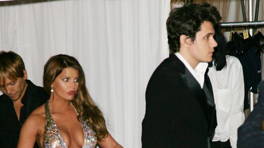 Jessica Simpson und John Mayer 2007 bei der Met Gala