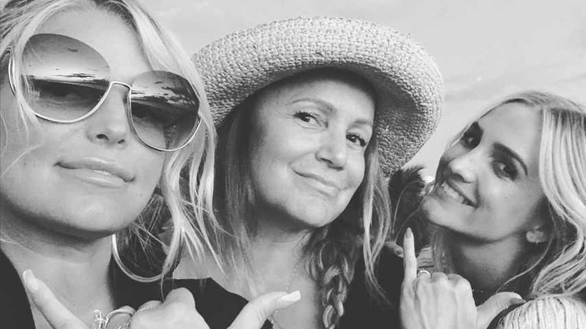 Jessica, Tina und Ashlee Simpson