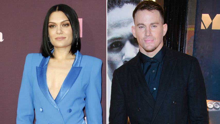 Jessie J besucht Show von Channing Tatum und tanzt mit ihm