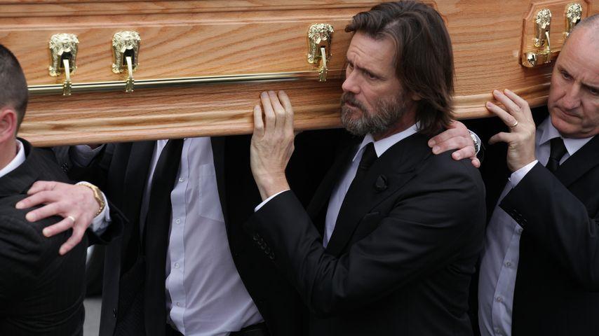 Neue Anklage: Steckte Jim Carrey seine Ex (†) mit Herpes an?