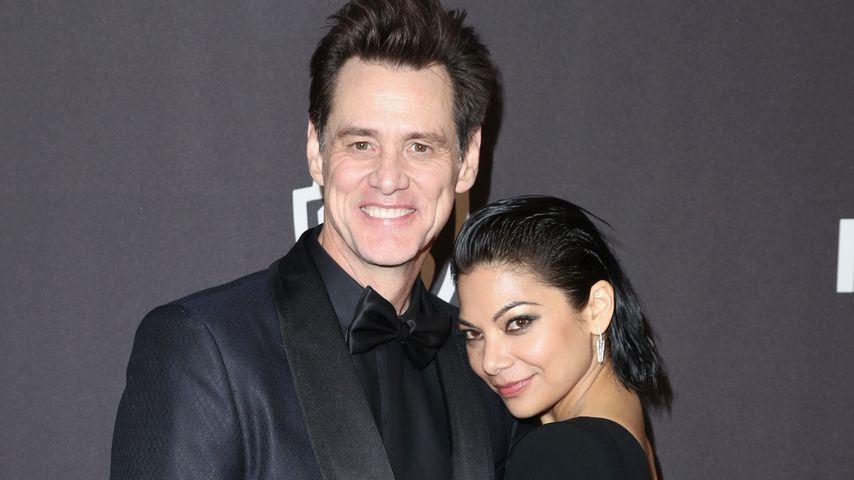 Jim Carrey und Ginger Conzaga im Januar 2019
