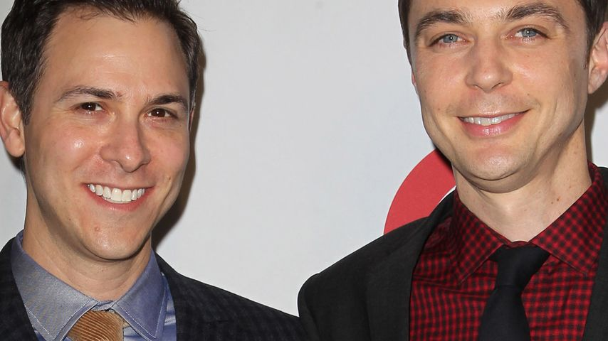 Jim Parsons & Todd Spiewak bei den GLSEN Respect Awards
