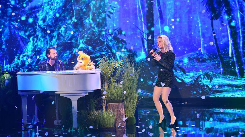 "Jimi Blue Ochsenknecht und Jeanette Biedermann bei ""Pretty in Plüsch"""