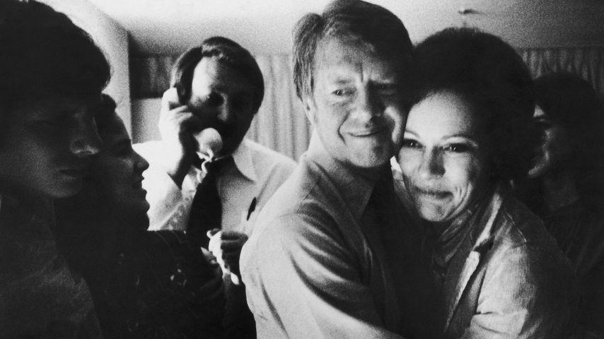 Jimmy und Rosalynn Carter im November 1976