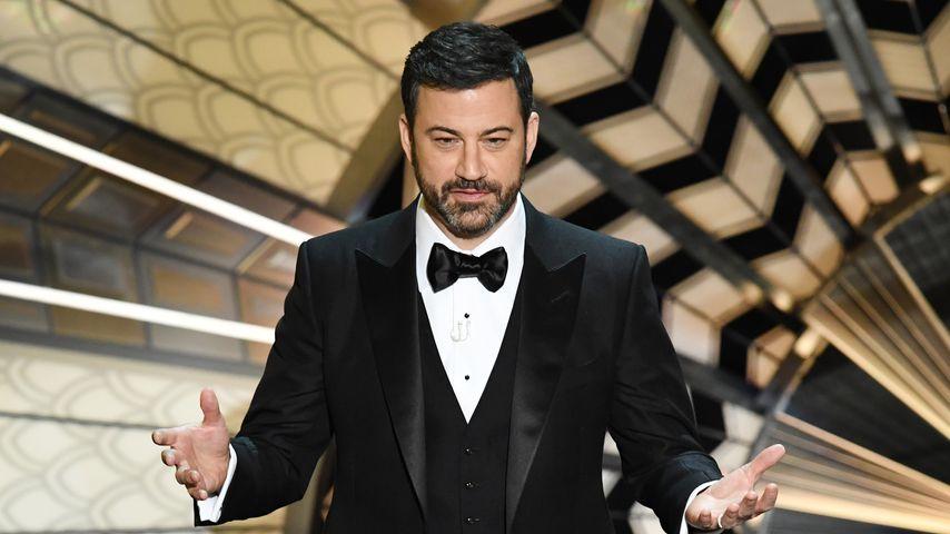 Trotz Panne: Jimmy Kimmel moderiert die Oscars auch 2018