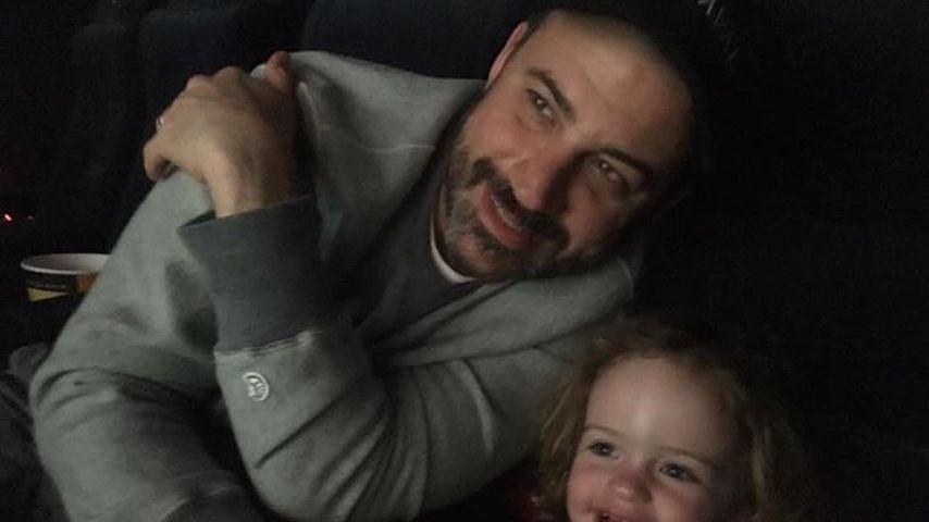 Jimmy Kimmel mit seiner Tochter Jane