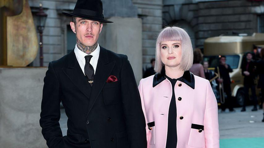 Jimmy Q und Kelly Osbourne im Juni 2019