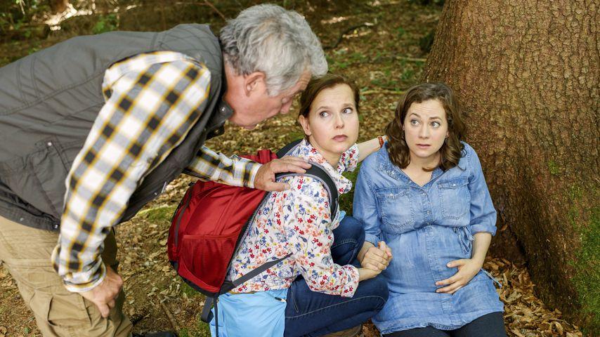 """Joachim Lätsch, Bojana Golenac und Christin Balogh in der ARD-Telenovela """"Sturm der Liebe"""""""