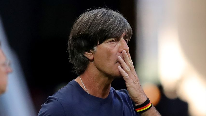 Joachim Löw beim Deutschlandspiel gegen Südkorea