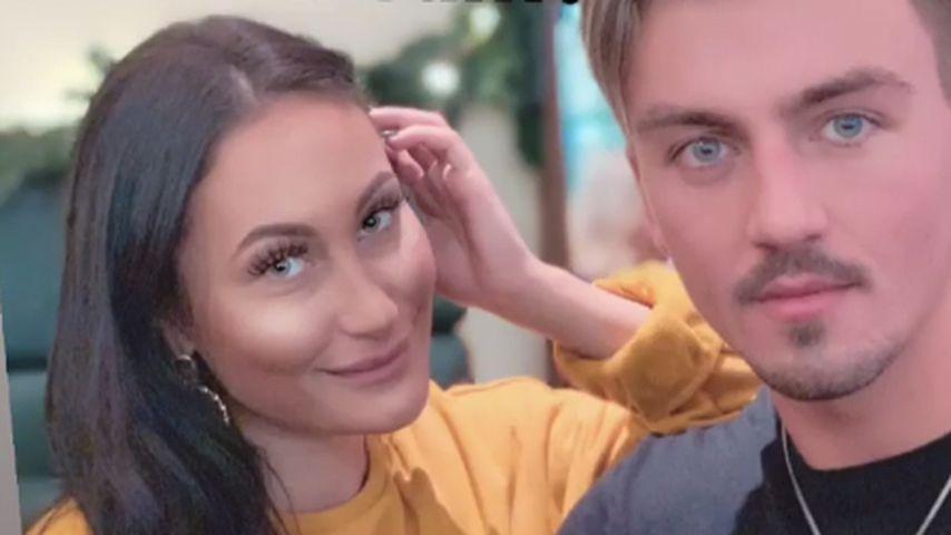 """Ehemalige """"Love Island""""-Kandidatin Joana mit ihrem Ex-Freund Kevin"""