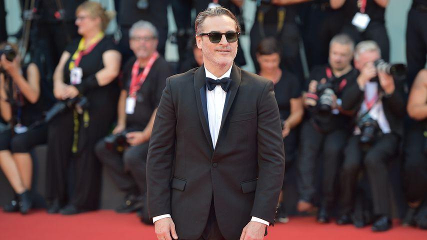 """Joaquin Phoenix beim Screening von """"Joker"""", August 2019"""