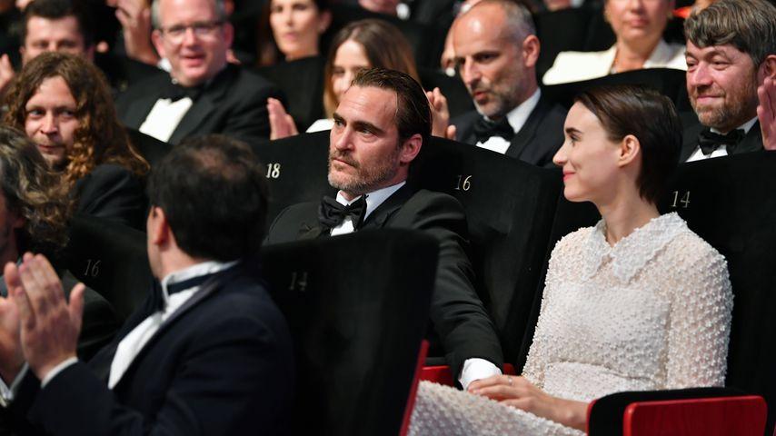 Joaquin Phoenix und Rooney Mara in Cannes