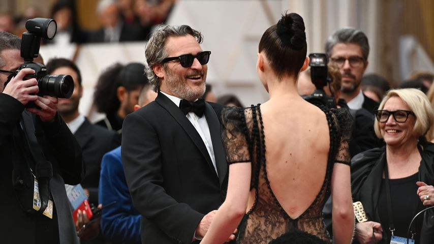 Joaquin Phoenix und Rooney Mara bei den Oscars 2020