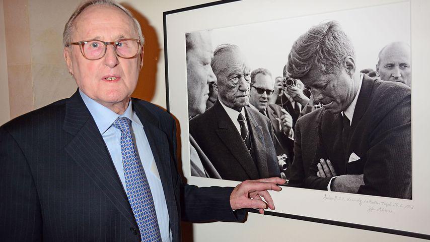 Berühmter Kennedy-Fotograf: Jochen Blume ist gestorben