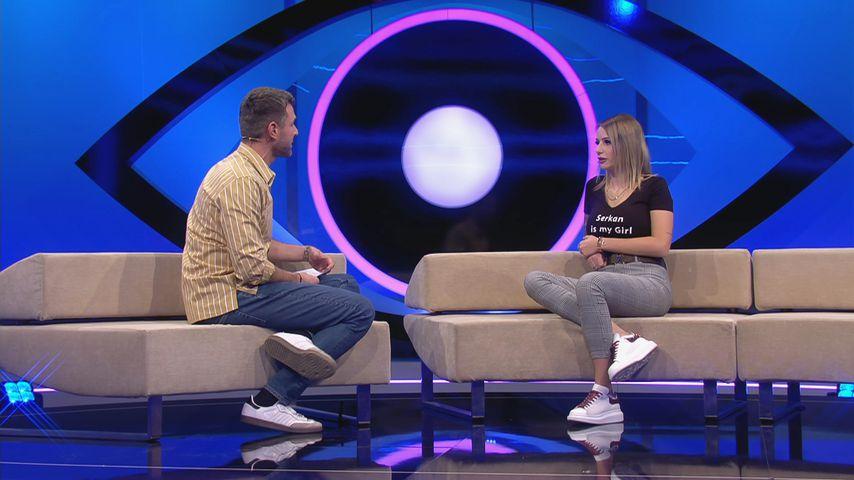 """Jochen Schropp und Carina Spack bei """"Big Brother"""" 2020"""