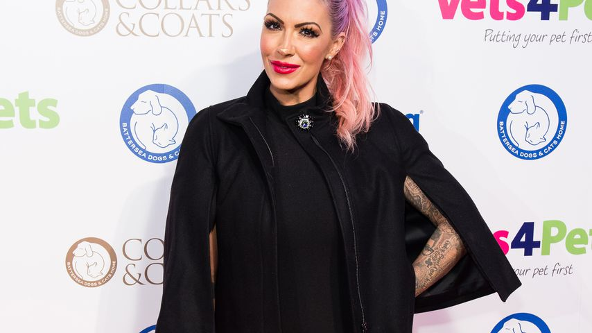 Jodie Marsh beim Collars and Coats Ball 2017 in London