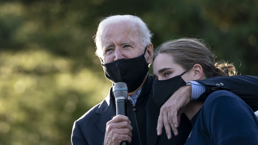 Joe Biden und Enkelin Maisy Biden im Oktober 2020