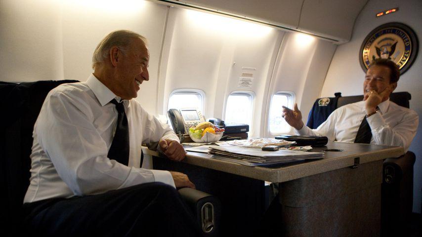Joe Biden und Arnold Schwarzenegger