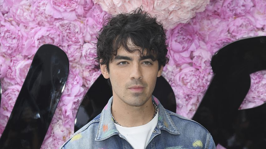 Joe Jonas bei der Dior Homme Menswear-Fashionshow in Paris