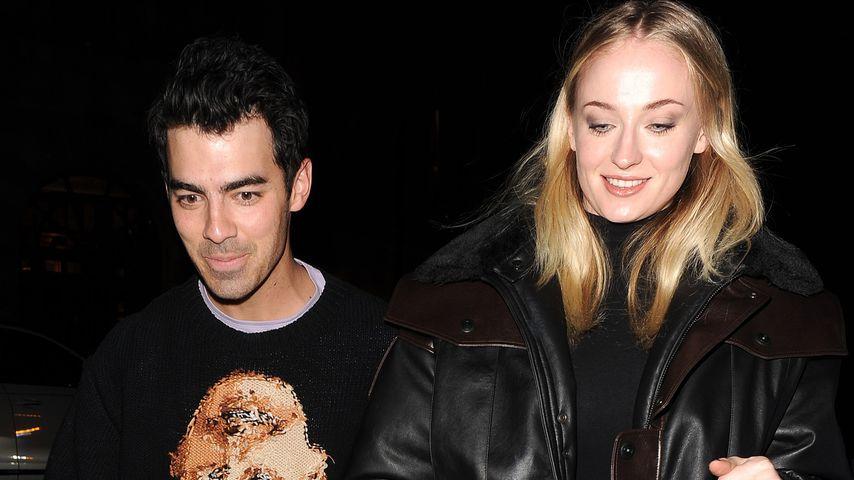 Sänger Joe Jonas und Ehefrau Sophie Turner im Februar 2020