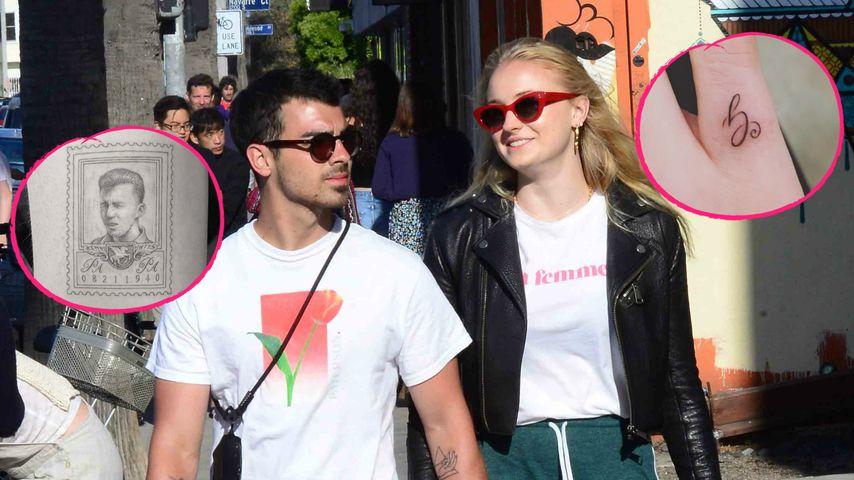 Für ihre Großväter: Joe Jonas und Sophie haben neue Tattoos