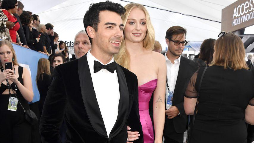 Joe Jonas und Sophie Turner im Januar 2020