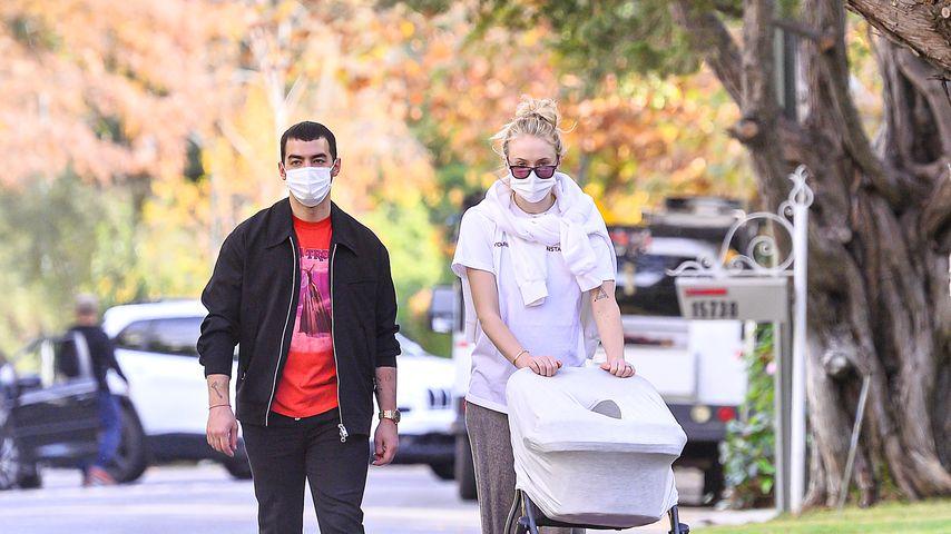 Joe Jonas und Sophie Turner mit Tochter Willa